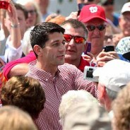 Members challenge Paul Ryan at State Fair soapbox