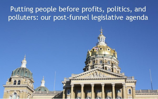 CCI Action's post-funnel legislative agenda