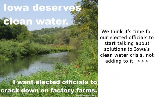 Iowans deserve clean water