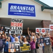 "CCI Action Fund Members Deliver ""Clean Water Now"" Letter To Branstad's Urbandale Campaign Office"