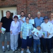 A great day to door knock!
