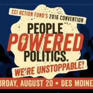 "2016 ""People Powered Politics"" convention—Aug 20"