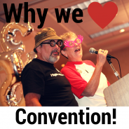 Why Pat and Kenn love Convention