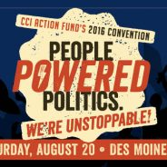 "8/20 ""People Powered Politics"" workshops announced!"