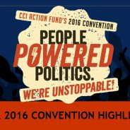Your 2016 People Powered Politics convention highlights