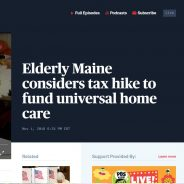 Exciting referendum vote to watch in Maine