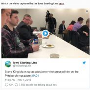 VIDEO: member confronts Steve King with his own white supremacist quote